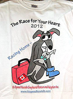 Race for Your Heart 2012 Shirts Available